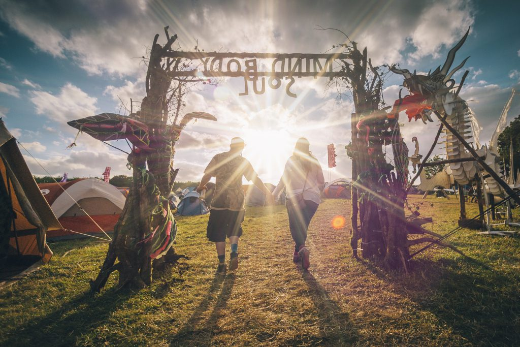 Onsite at Noisily Festival